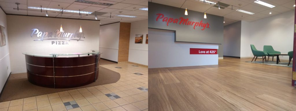 Papa Murphy's - Before and After